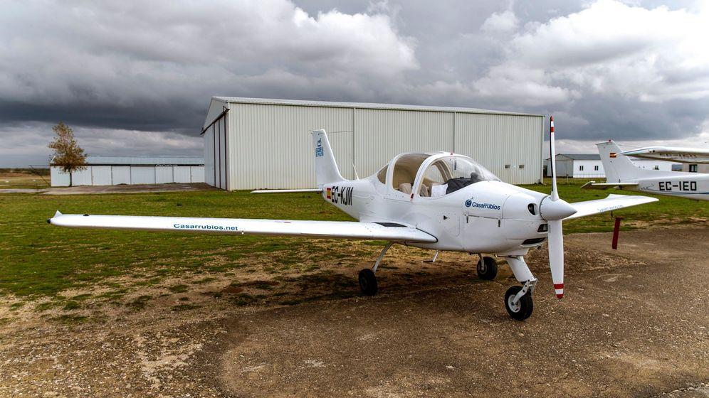 Foto: Foto de archivo de una avioneta en el aeródromo de Casarrubios del Monte. (EFE)