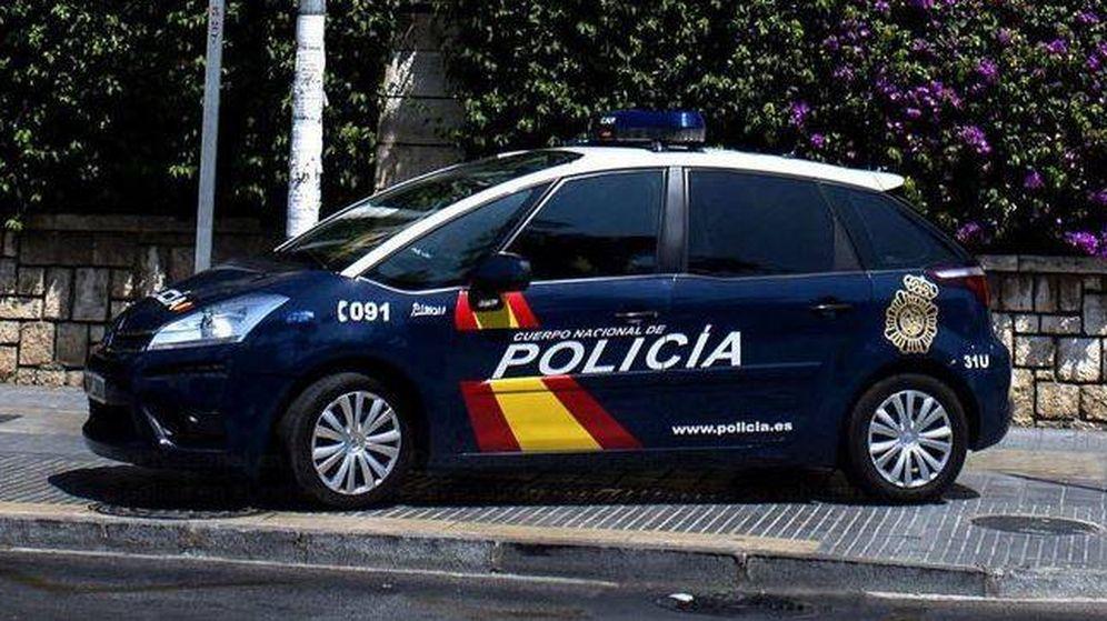 Foto: Detenido por un presunto delito de odio en Pamplona. (Policía Nacional)