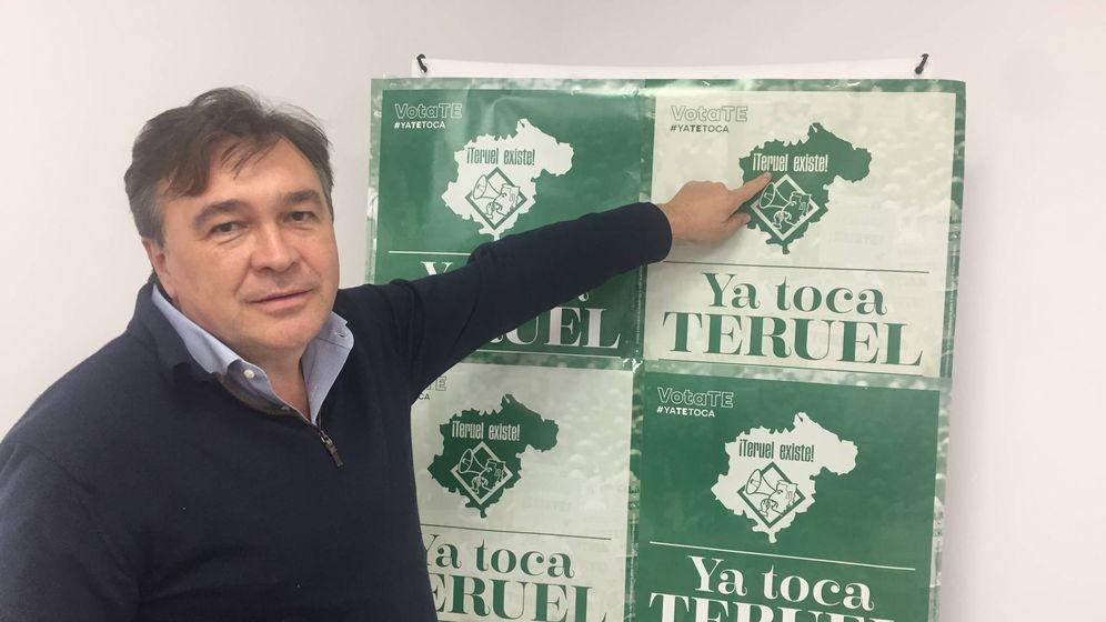 Foto: Tomás Guitarte, el primer diputado de la historia de Teruel Existe. (A. V.)
