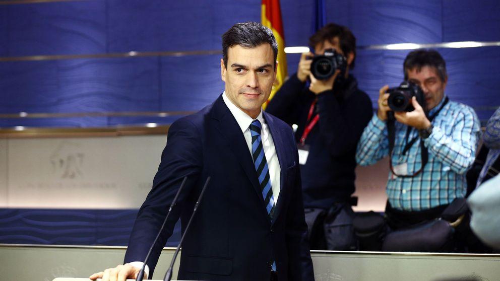 Pedro Sánchez sube un peldaño de la escalera