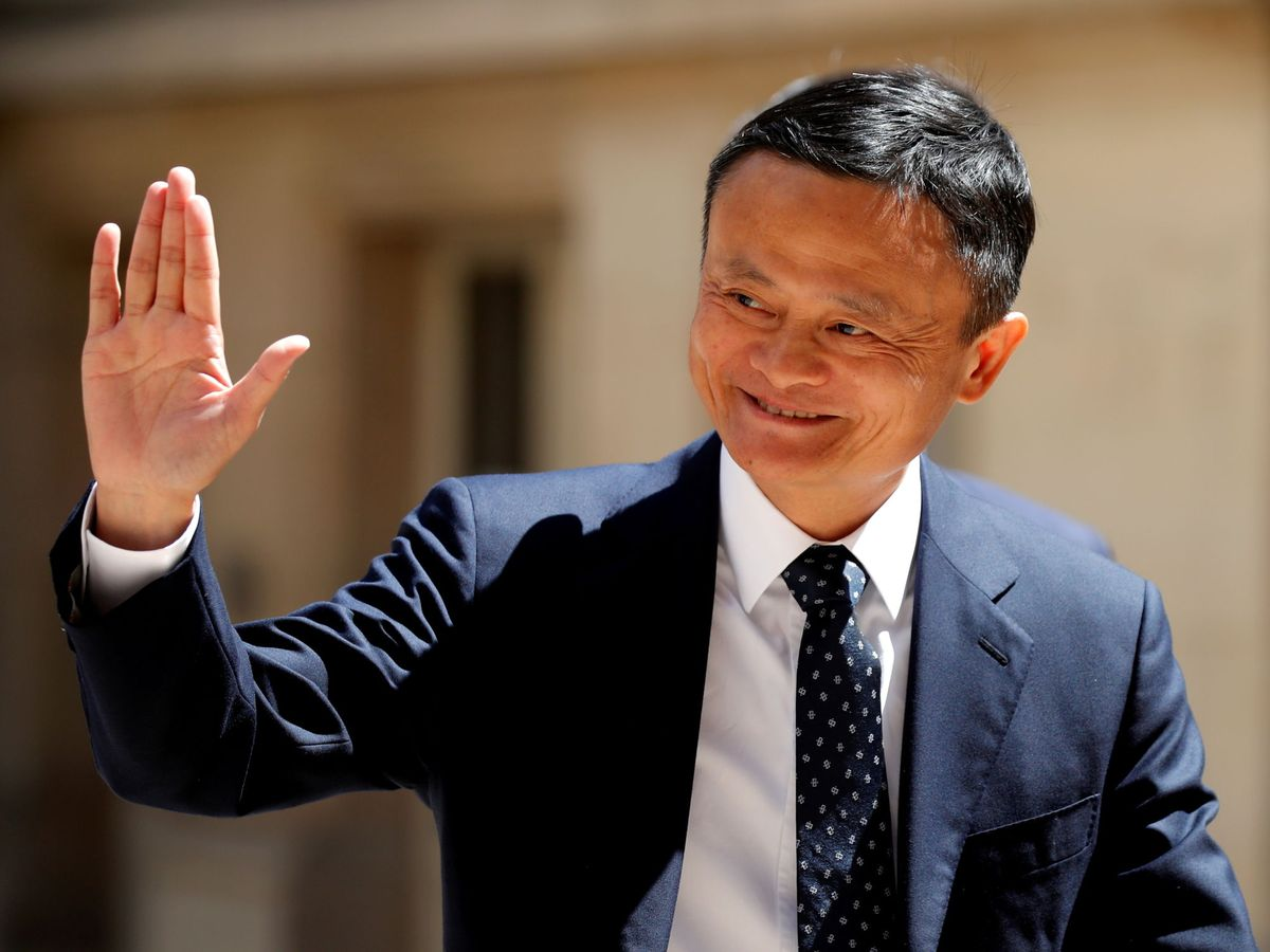 Foto: El presidente de Alibaba, Jack Ma