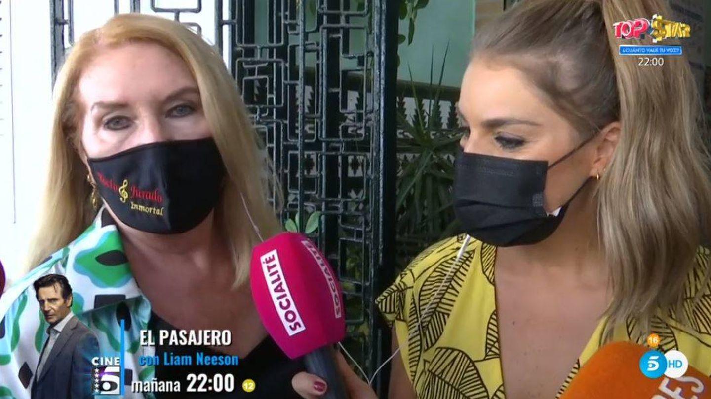 Gloria Mohedano, en 'Socialité'. (Mediaset España)
