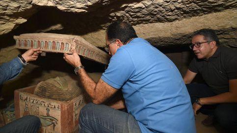 Descubren más de 100 tumbas en Saqqara: el mayor hallazgo egipcio en años