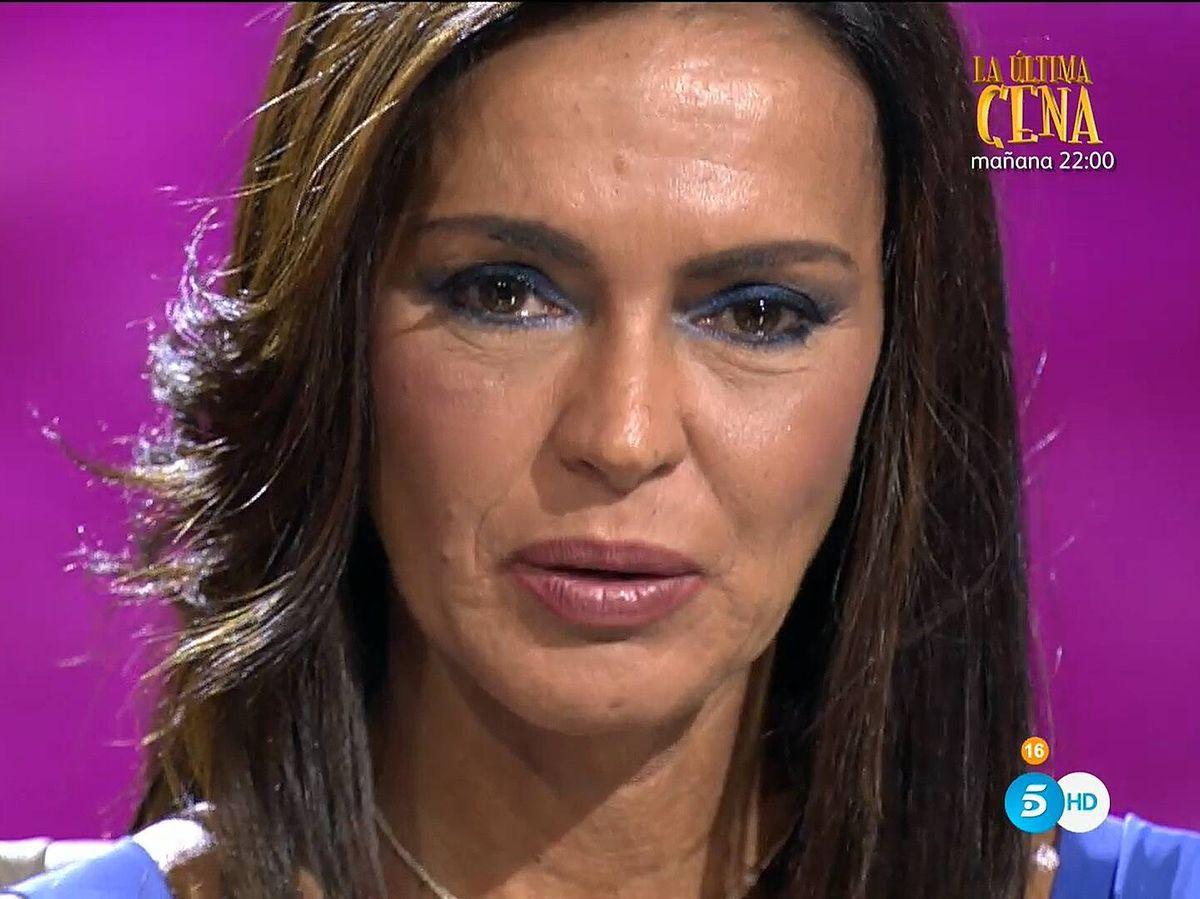 Foto: Olga Moreno, en 'Ahora, Olga'. (Mediaset)