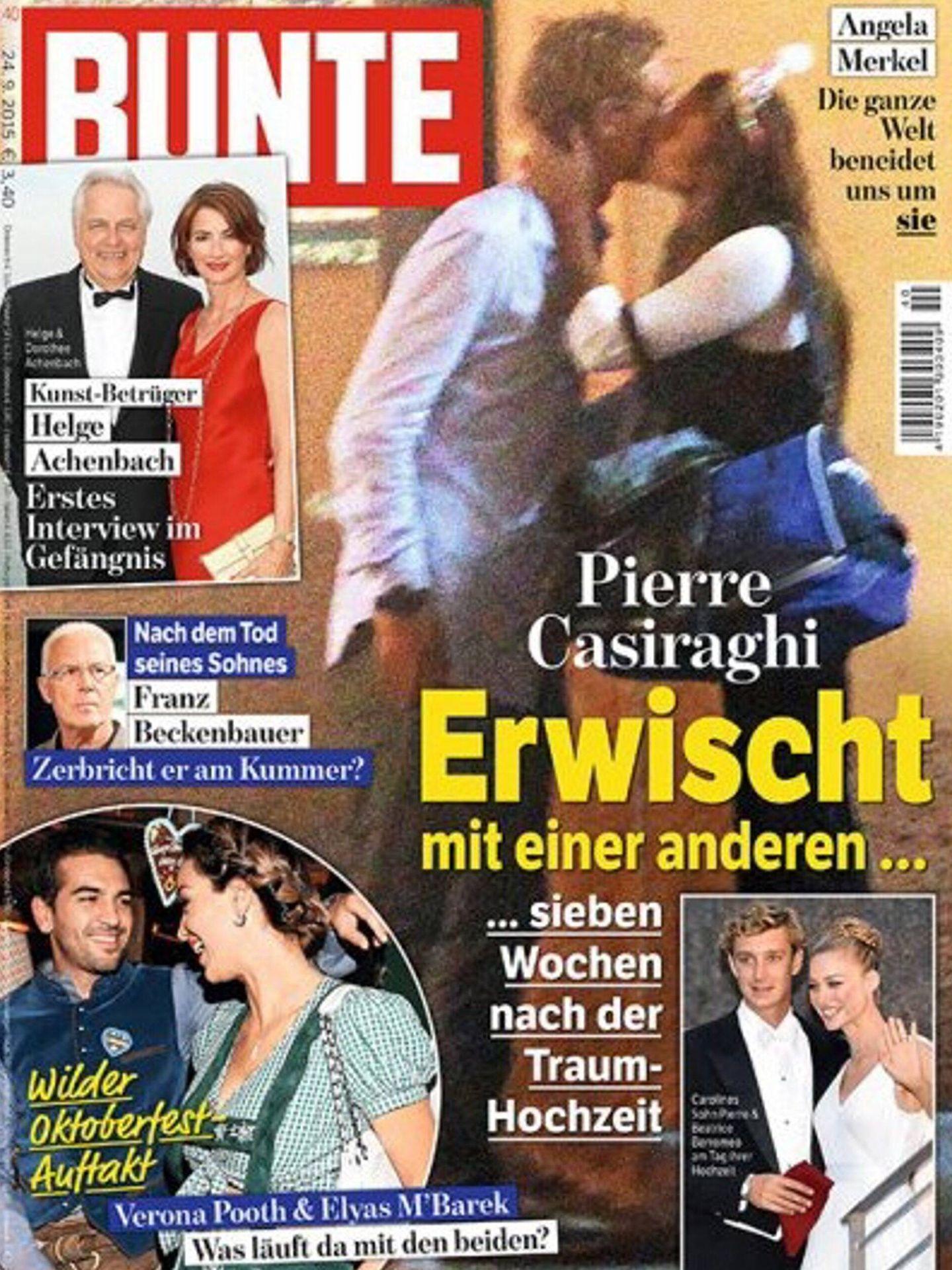 La portada de Pierre Casiraghi.