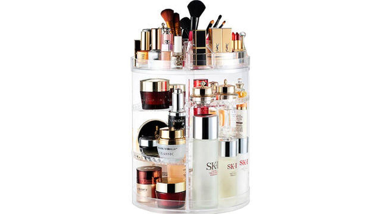 Organizador de maquillaje Ameitech con rotación de 360 grados