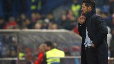 Hasta en el primer batacazo del año Simeone saca conclusiones positivas