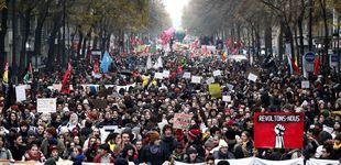 Post de Las marchas contra la reforma de Macron reúnen a 806.000 personas en Francia