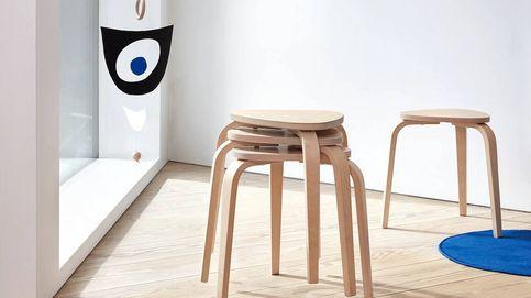 De taburete básico de Ikea a mueble auxiliar de lujo en dos sencillísimos pasos
