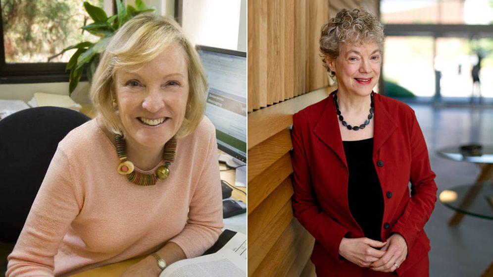Foto: Las psicólogas Susan Fiske y Shelley Taylor. (El Confidencial)