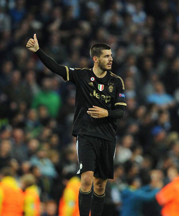 Foto: Morata dio la victoria a la Juventus contra el Manchester City (EFE).