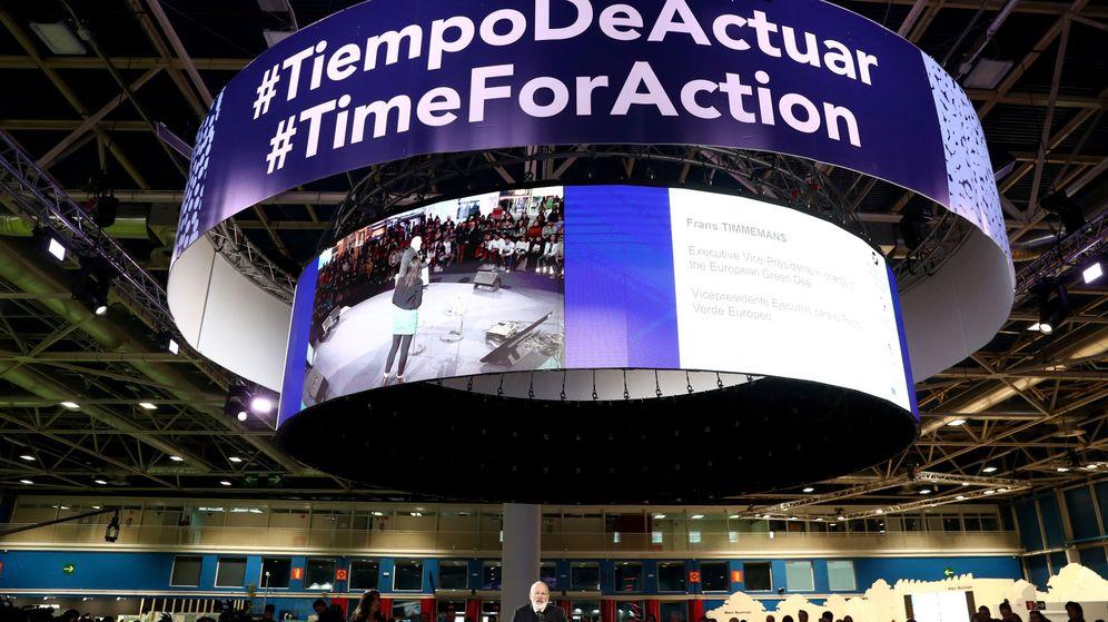 Foto: Conferencia del Cambio Climático de la ONU (COP25) en Madrid. (Reuters)