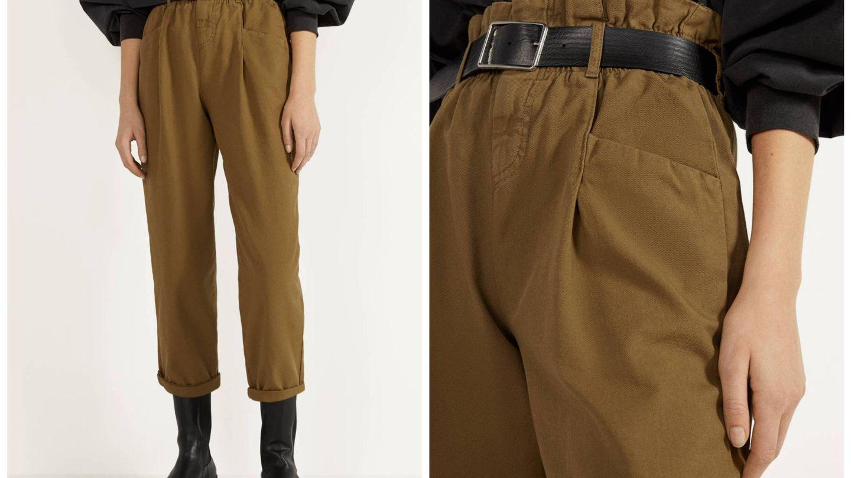 Nuevo pantalón de Bershka. (Cortesía)
