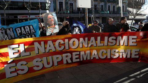 Ultraderechistas de Hogar Social rompen el cordón de seguridad y protestan frente al TS