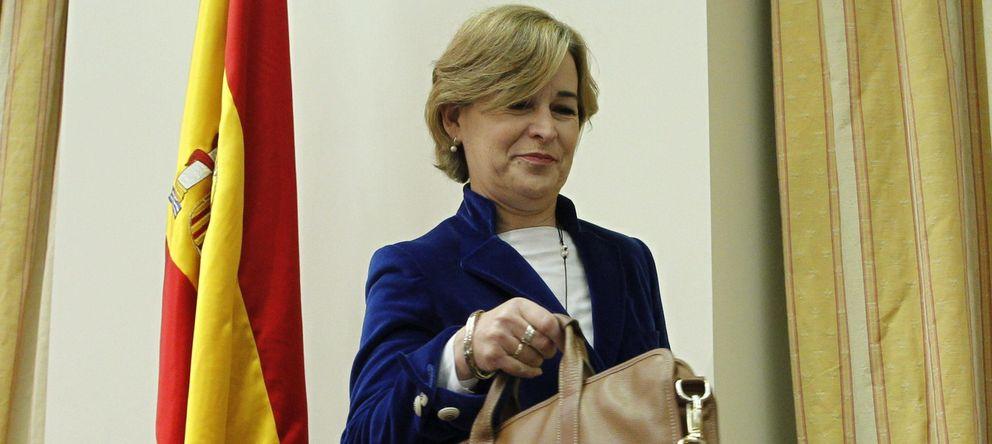 Foto: La presidenta de la Sareb, Belén Romana. (EFE)