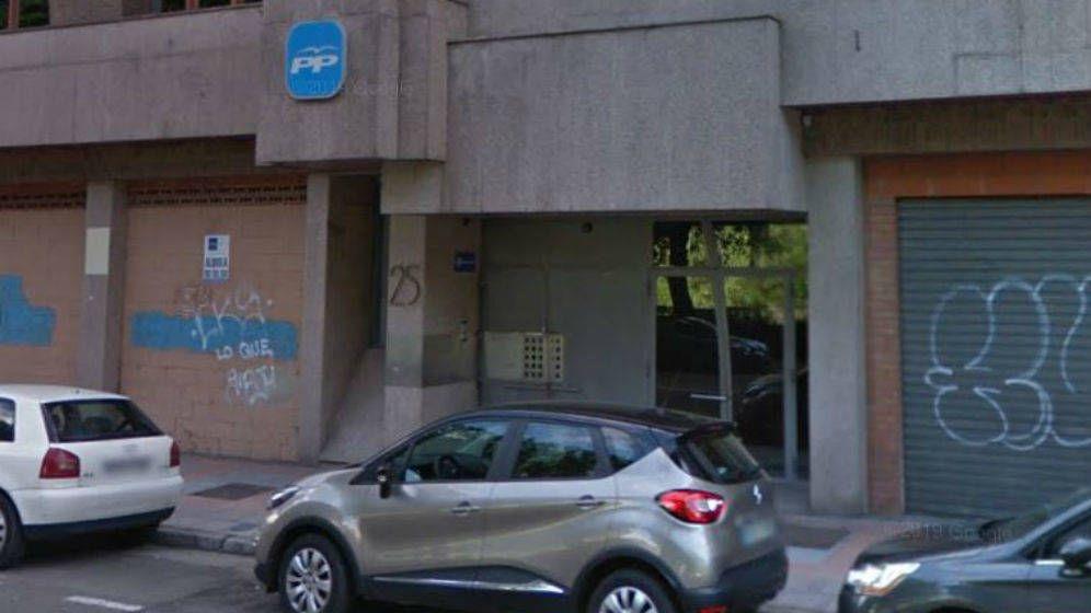 Foto: Sede del Partido Popular en León. (Google Maps)