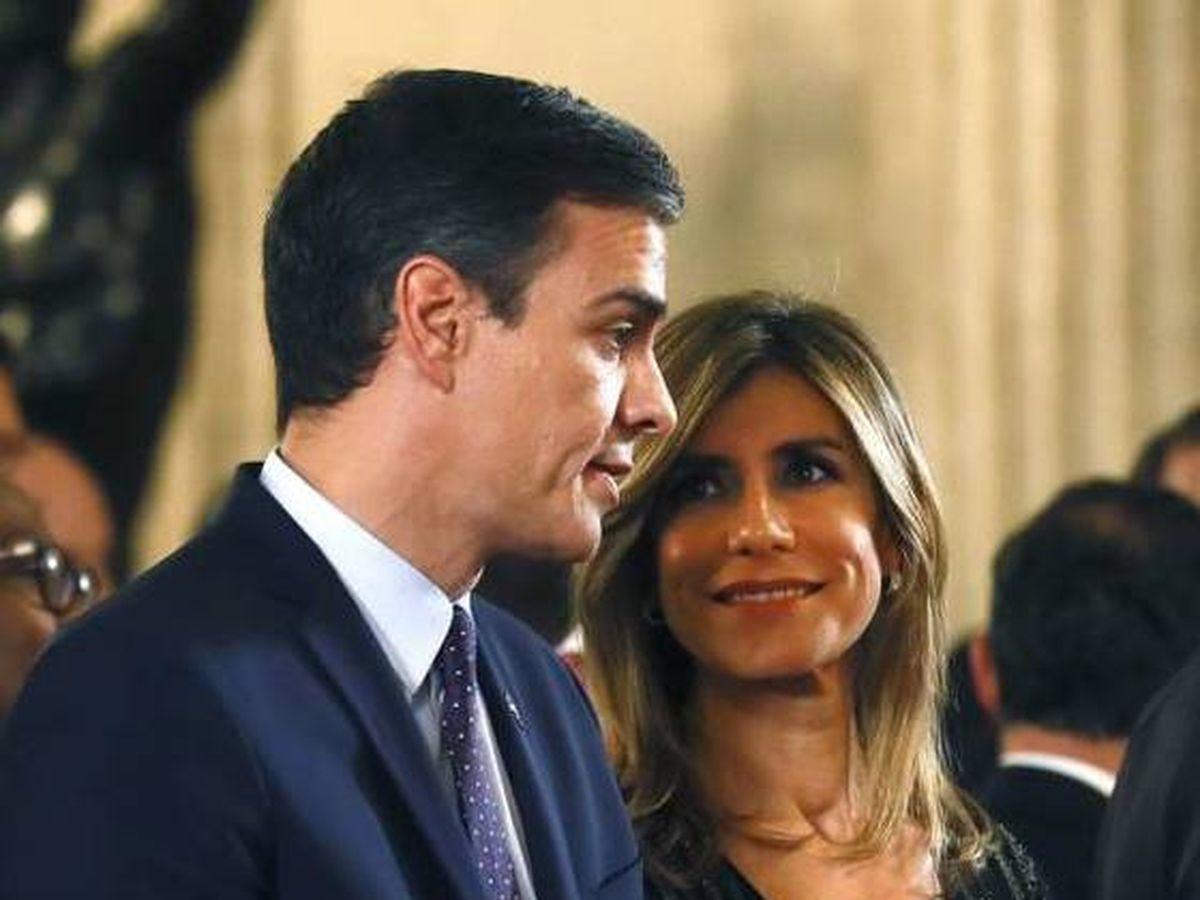 Foto: Pedro Sánchez y Begoña Gómez. (EFE)