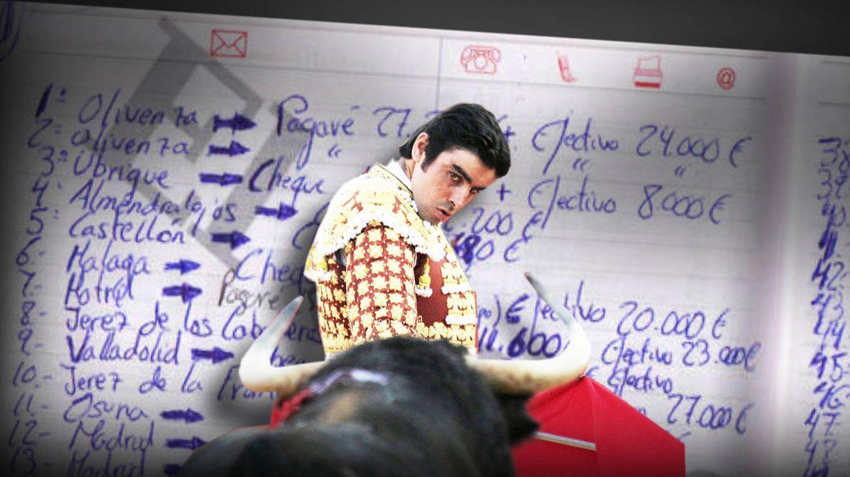 Los Papeles de Bárcenas del toreo: investigan la agenda de Perera con pagos en 'cash'