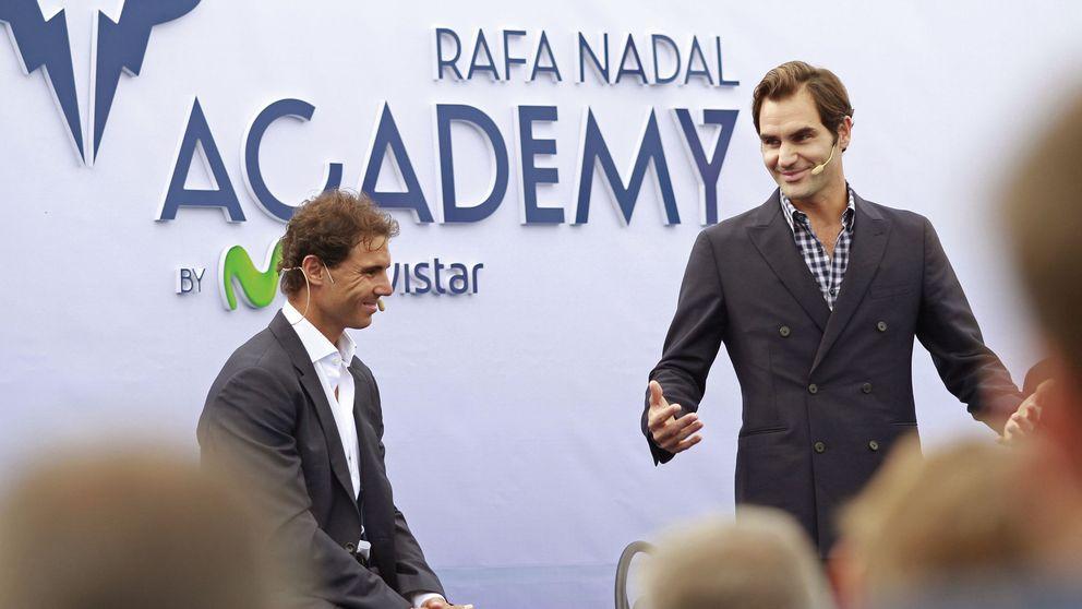 Rafael Nadal inaugura su espectacular Academia junto a Roger Federer