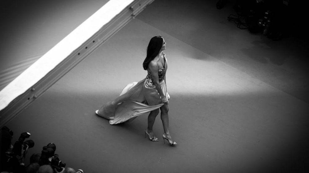 Foto: Eva Longoria a su llegada al estreno de Cannes. (Getty)