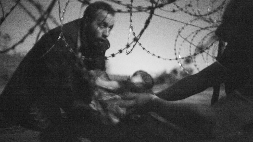 Una foto sobre el drama de los refugiados gana el World Press Photo