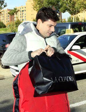 Fran hace las maletas y se marcha de la casa de Belén Esteban