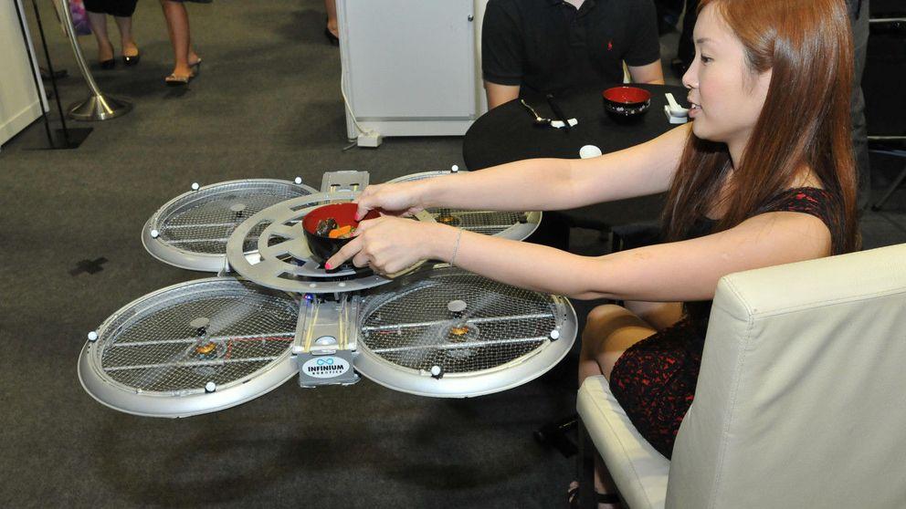 Robots camareros y drones fotógrafos: tecnología para modernizar el turismo