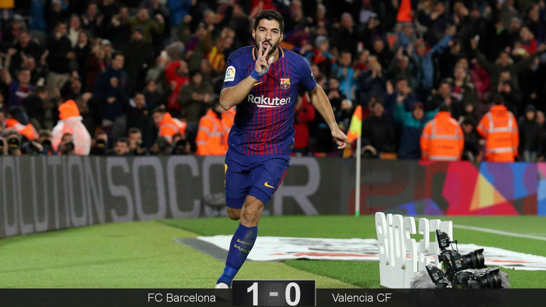 Foto: Suárez sigue en plena racha. (Reuters)