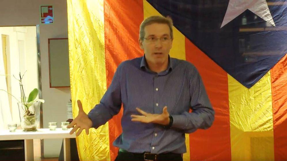 Foto: David Fernández Aguilera, vicepresidente del Cercle Català de Negocis. (YouTube)