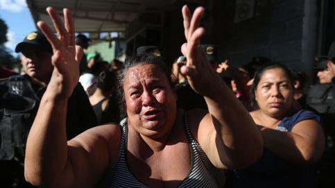 22 niñas mueren en un incendio en un centro de menores de Guatemala