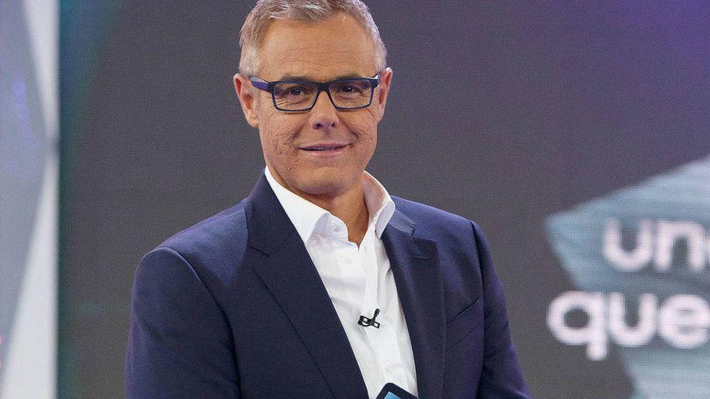 Foto: El presentador Jordi González, en 2014. (Mediaset)
