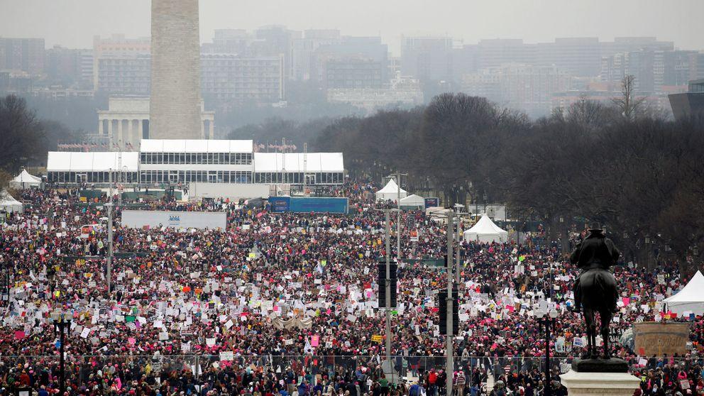 Miles de mujeres marchan en Washington contra Donald Trump