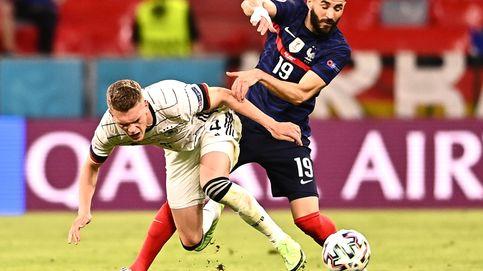 Una inexpugnable Francia sin grietas en defensa derriba a Alemania en Múnich (1-0)