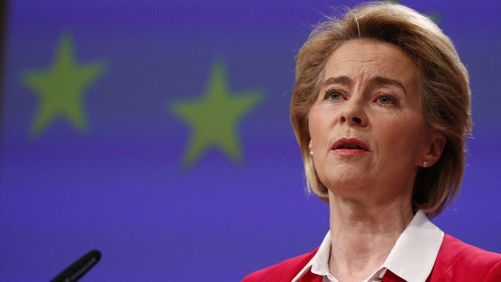 Foto: Von der Leyen, presidenta de la Comisión Europea. (EFE)
