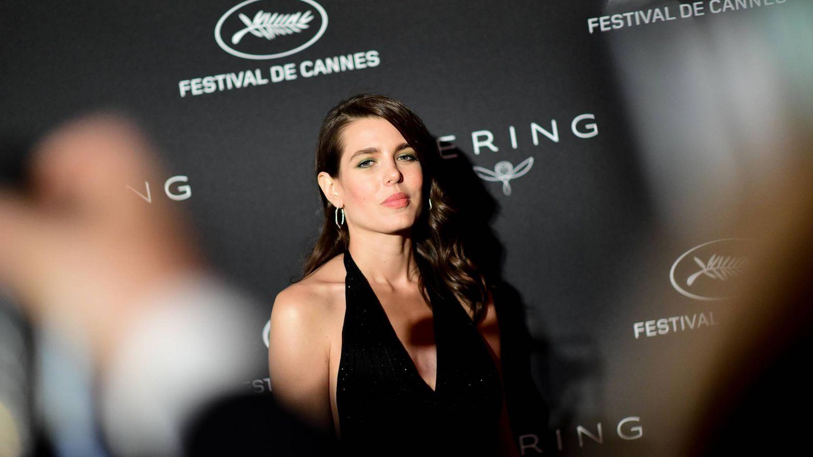 Foto: Carlota Casiraghi, en el pasado Festival de Cannes. (Getty)