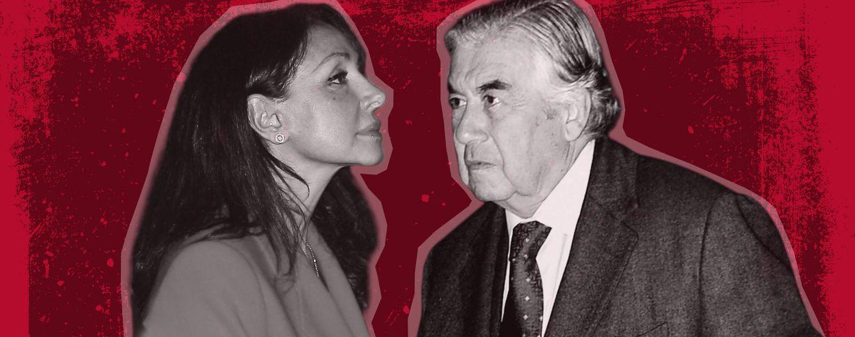 Foto: Esther Koplowitz y Alberto Alcocer (Fotomontaje de Vanitatis)