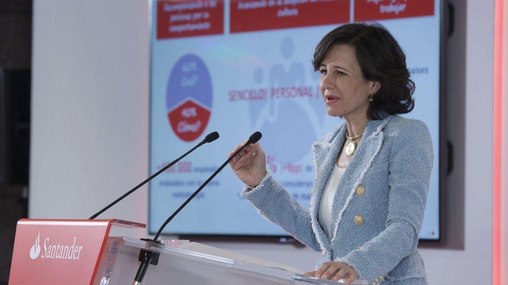 Santander sube el dividendo un 5% y lo pagará totalmente en efectivo en 2019
