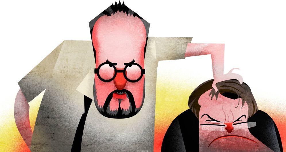 Foto: Baños y Más. Ilustración de Raúl Arias.