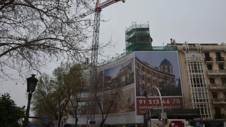 Una sola calle de Madrid aglutina cinco proyectos para construir 89 viviendas de lujo