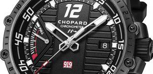 Post de Chopard, alto rendimiento