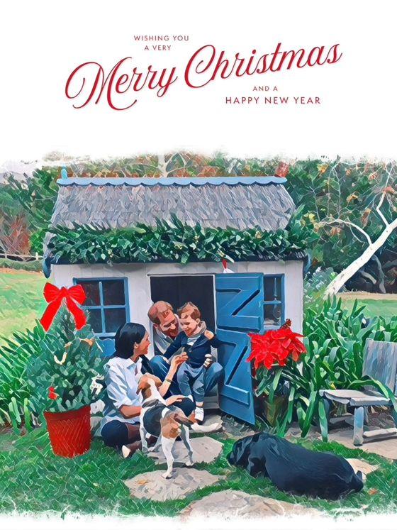 La felicitación navideña. (Reuters)