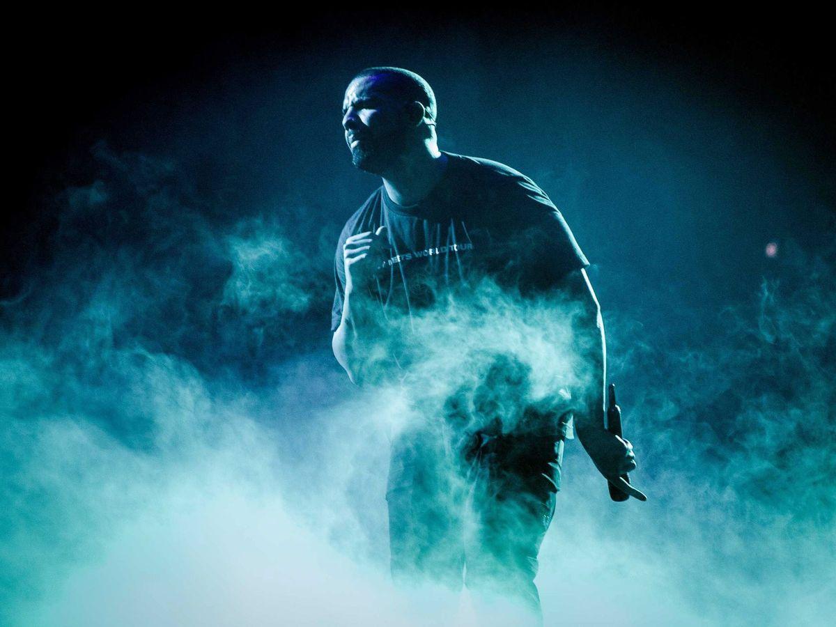 Foto: La discográfica gestiona a Drake, entre otros artistas. (EFE)
