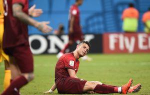 La Portugal del renqueante CR7, virtualmente eliminada del Mundial