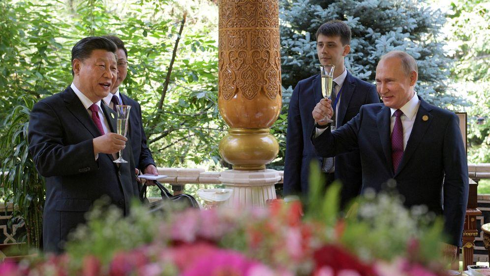 Foto: Xi Jinping y Vladimir Putin. (Reuters)