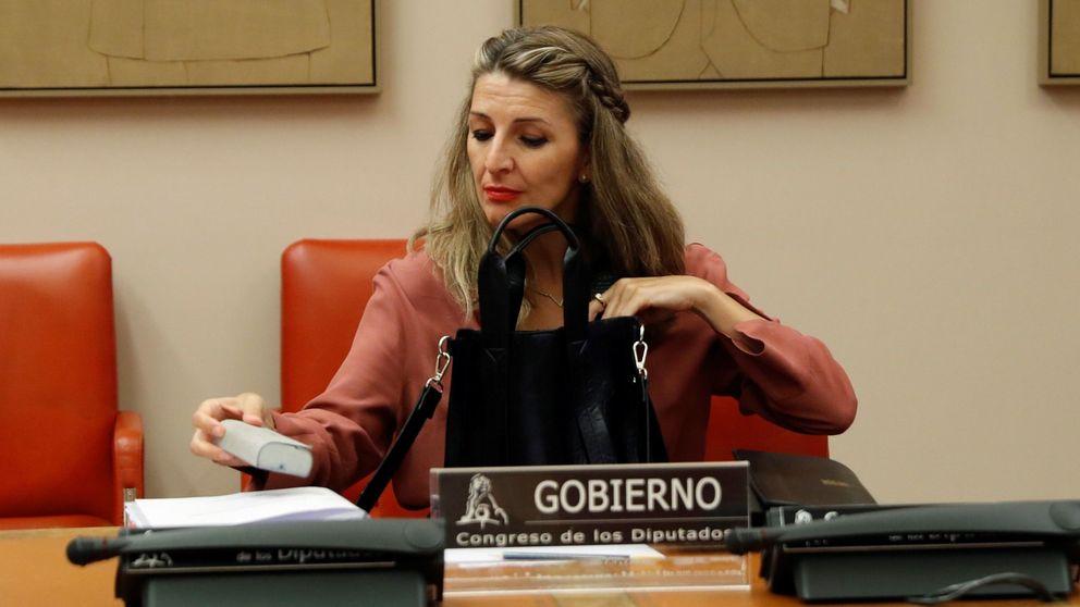 La ministra Yolanda Díaz prepara una ley para regular el teletrabajo