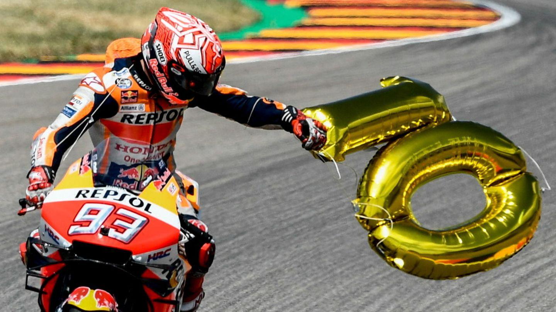 Marc Márquez lleva diez victorias en Sachsenring. (EFE)