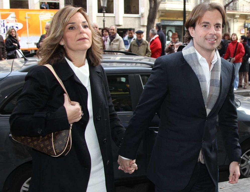 Foto: Arantxa Sánchez Vicario y su esposo, Josep Santacana, en una imagen de archivo. (Gtres)