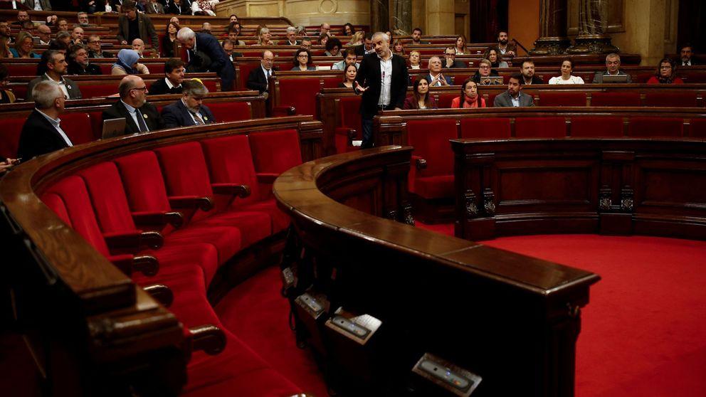 Los independentistas tumban una moción del PSC contra las protestas violentas