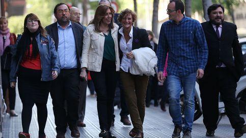 Díaz echa mano de Zapatero y Madina para que le abran camino en Cataluña
