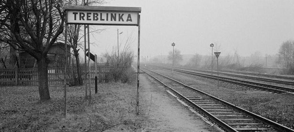 Foto: Estación de tren de Treblinka.